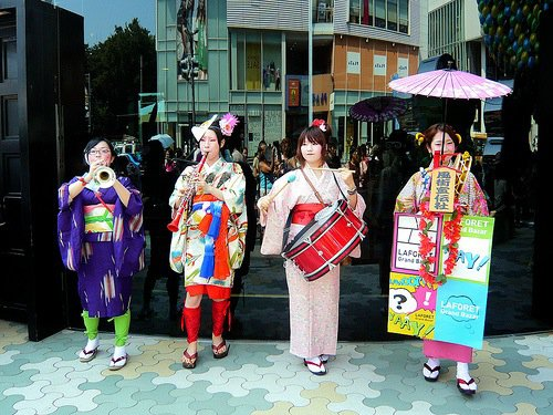 La tradition rencontre la modernité à Harajuku, Tokyo